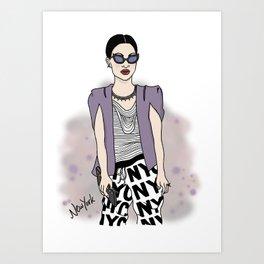 New York Style Art Print