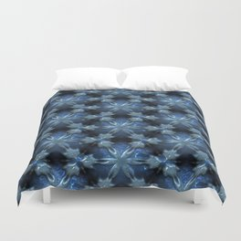 Relief Pattern 01 blue Duvet Cover
