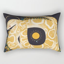Familiar - Burmese Python Rectangular Pillow