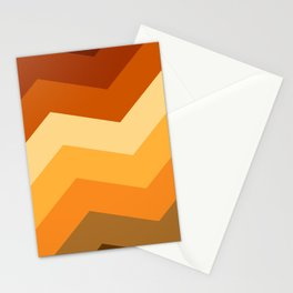 Summer Warm color pattern Stationery Cards