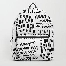 Funny, strange, crazy lines Backpack