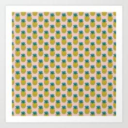 Original Pineapple Art Print