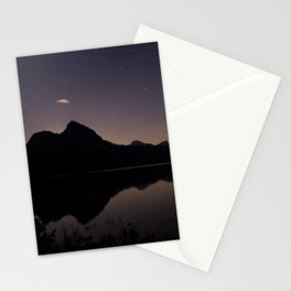 Mountain Silhouette Stationery Cards