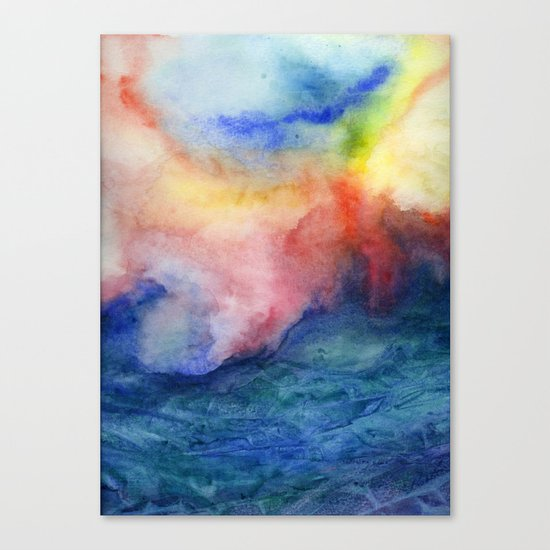 Torrent Canvas Print