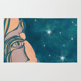 Mr. Man in the Moon Rug