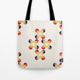 'round and 'round Tote Bag