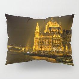 Hungarian Parliament Building Pillow Sham