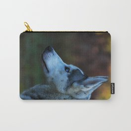 Blue eyes Carry-All Pouch