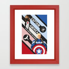 The Winter Soldier Framed Art Print