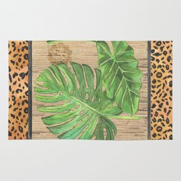 Tropical Palms 2 Rug