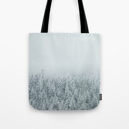 White Forest Tote Bag