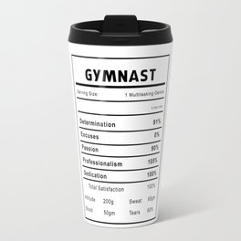 Gymnast Nutrition Ingredients Travel Mug