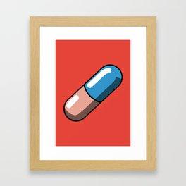 Akira Pill Framed Art Print