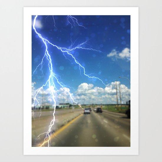 Awwww.....Summer storms!!! Art Print
