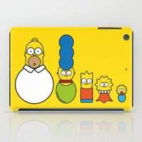 simpsons iPad Cases featuring the simpsons family by NHTT