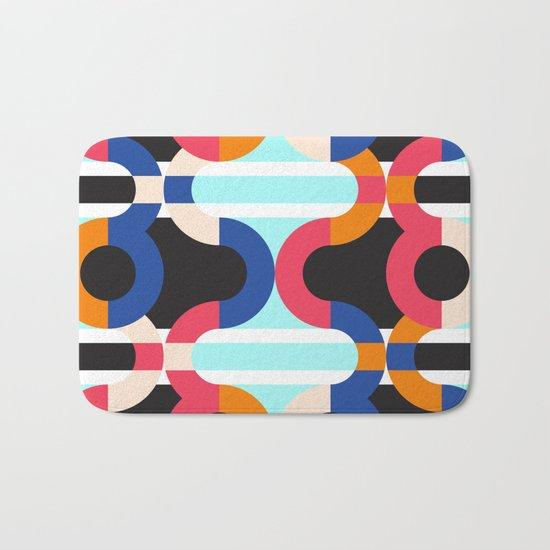 Geometric#17 Bath Mat
