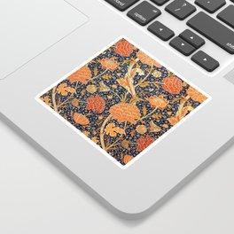 William Morris Cray Floral Art Nouveau Pattern Sticker