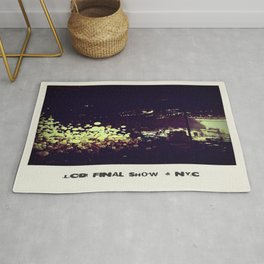 LCD Soundsystem Final Show Rug