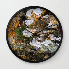 Rock Cover Wall Clock