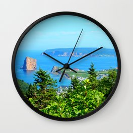 Perce From Dawn's Peak Wall Clock