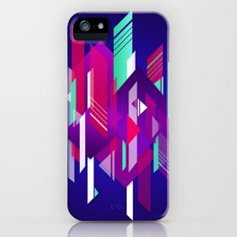 Shattered and Stained iPhone Case
