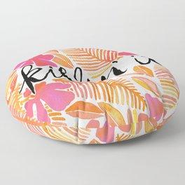 Killin' It – Melon Ombré Floor Pillow