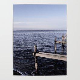The North Sea, Denmark Poster