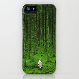 Green Wood iPhone Case