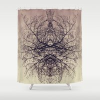 ohm Shower Curtains featuring ohm by anitaa
