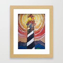 Lighthouse Funk 1 Framed Art Print