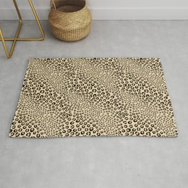 Leopards Want To Be Kissed Rug