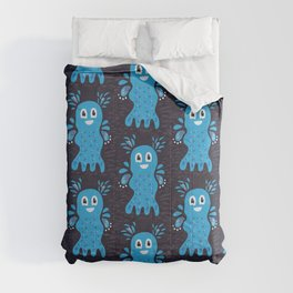 Undiscovered Sea Creatures Comforters
