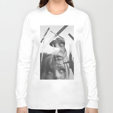 She left pieces of her life Long Sleeve T-shirt