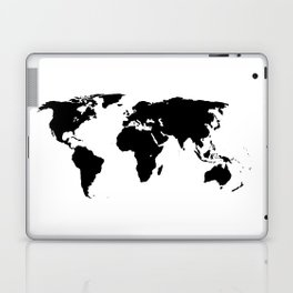 World Outline Laptop & iPad Skin