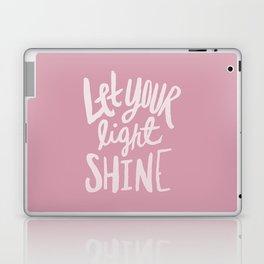 Let Your Light Shine x Rose Laptop & iPad Skin