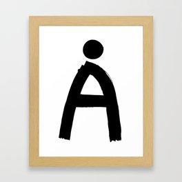The last letter Framed Art Print