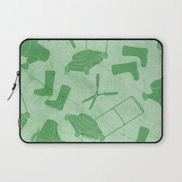 GARDEN TOOL KIT PATTERN Laptop Sleeve