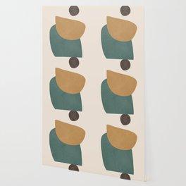 Abstract Minimal Shapes III Wallpaper