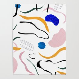 wave notation Poster