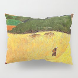 The Beach Of Les Grands Sables At Le Pouldu - Paul Serusier Pillow Sham