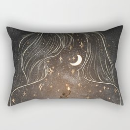 I see the universe in you. Rectangular Pillow