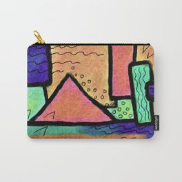 Untitled Abstract Digital Painting Carry-All Pouch