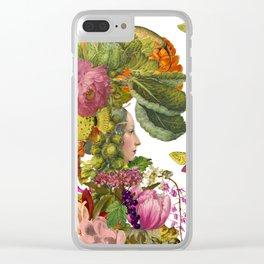 Magic Garden XI Clear iPhone Case