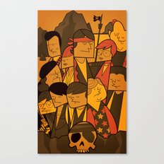 The Goonies (variant aspect ratio) Canvas Print