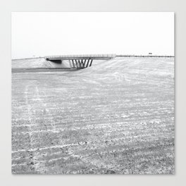 Over Under Canvas Print