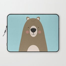 Bears Are Friendly Laptop Sleeve