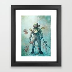 Deep Sea Garden  Framed Art Print