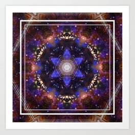Mandala Of Memories Art Print