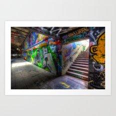 Leake Street London Graffiti Art Print