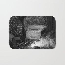 Welder works Bath Mat